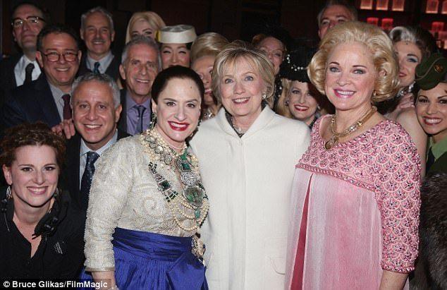 Hilary Clinton at War Paint